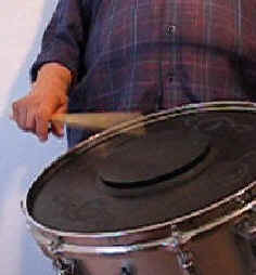 Traditional Drummer's Right Hand Grip
